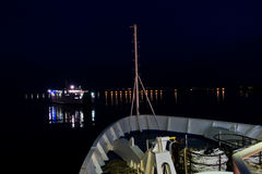 Night ferry to San Pietro island, Sardinia Stock Photos