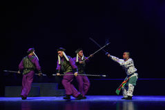 "Night fighting-Children's Beijing Opera""Yue teenager"" Stock Photography"