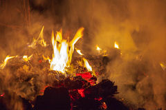 Night fire Royalty Free Stock Image