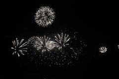Night Firework. Kazan city, night, firework at the river stock photography