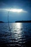 Night fishing Stock Photography