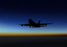 Night Flight Royalty Free Stock Image