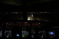 Night flight 2 Stock Photography