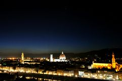 Night in Florence , Italy Stock Photo