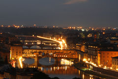 Night in Florence, Italy Stock Photo