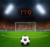 Night football stadium Royalty Free Stock Image