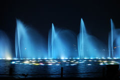 Night fountain_7 Royalty Free Stock Photos