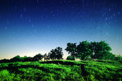 Night full of stars Royalty Free Stock Image