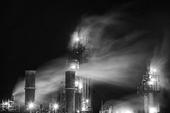 Night Fumes Royalty Free Stock Images