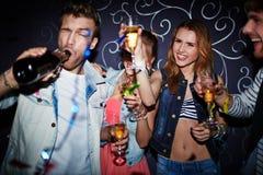 Night fun Stock Photo