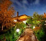 Night garden Stock Image