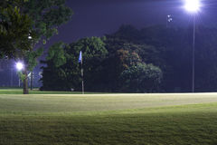 Night Golf Royalty Free Stock Photos