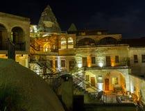 In the night Goreme, Turkey. Royalty Free Stock Photo