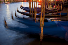 Night Grand Canal Royalty Free Stock Photo