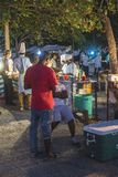 Night grill at Stone Town Zanzibar stock photography