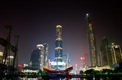 Night guangzhou city Royalty Free Stock Image