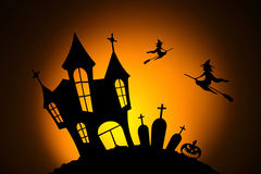 Night in the Halloween celebration Royalty Free Stock Photos