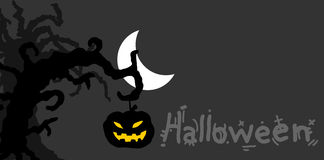 Night halloween Stock Images