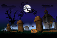 Night of Halloween Stock Images