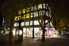 Night Hamburg Stock Photo