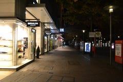 Night Hamburg Royalty Free Stock Photography