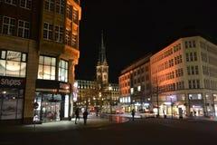 Night Hamburg Royalty Free Stock Photos