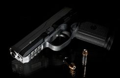 Night handgun Stock Images