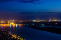The Night of Harbin Stock Photos