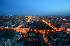 The Night of Harbin Royalty Free Stock Photos