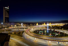 The Night of Harbin Stock Photos