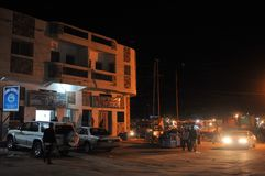 Night Hargeisa Stock Photography