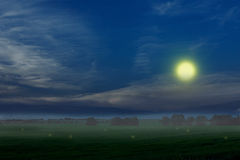 Night has come Royalty Free Stock Images