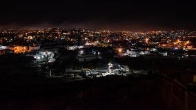 Night at the Hebron stock photography