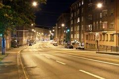 Night Helsinki Stock Photos