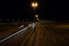 Night highway Stock Photos