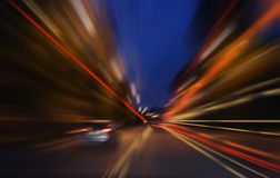 Night highway Royalty Free Stock Images