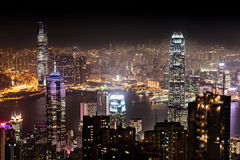 Night Hong Kong Royalty Free Stock Images