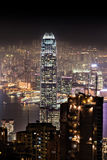 Night Hong Kong Royalty Free Stock Photos
