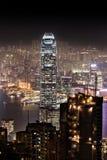 Night Hong Kong Royalty Free Stock Photos