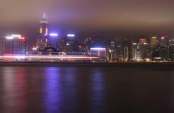 Night Hong Kong Stock Photo