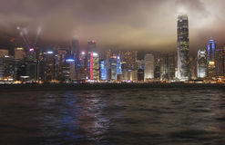 Night Hong Kong Stock Photography