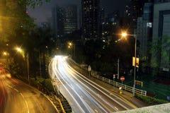 Night Hong Kong Stock Images