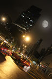 Night Hong Kong stock photos