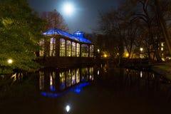 Night Hortus Stock Image