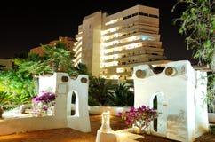 Night illumination of luxury hotel Stock Photo