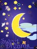 Night illustration Stock Photo