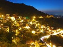 Night Image of New Taipei City, Taiwan Stock Photo