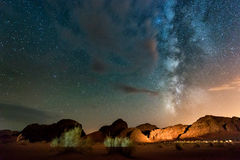 Free Night In Wadi Rum Desert. Jordan Stock Images - 68582244