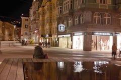 Night Innsbruck Stock Images