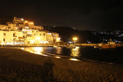 Night in ischia Royalty Free Stock Image